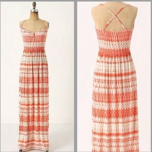 Anthropologie Deletta Maxi Dress